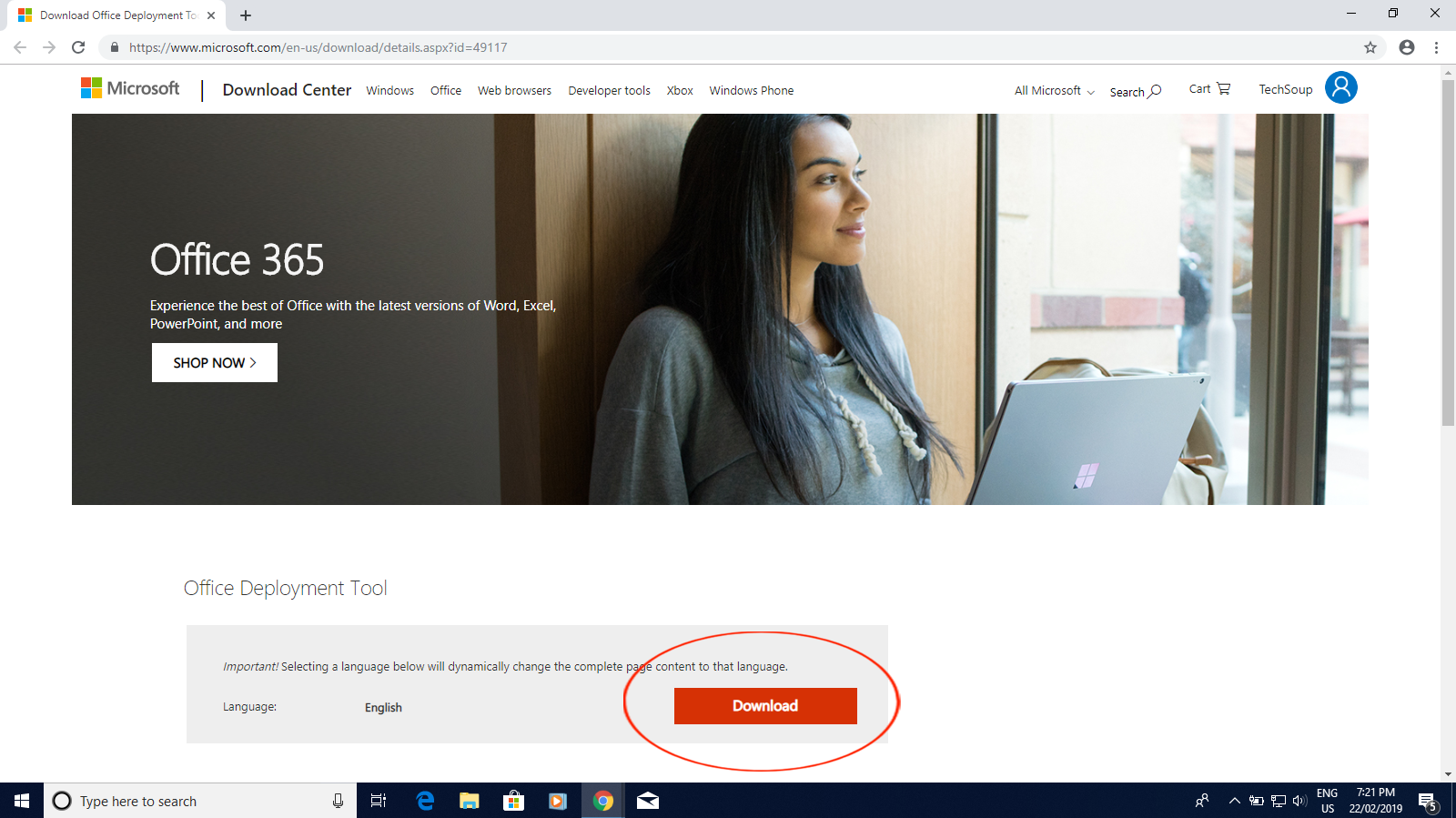 How to Install Office 2019 for Windows | TechSoup Canada