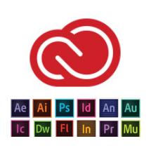 adobe creative cloud suite software list