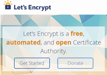 Let's Encrypt Screenshot