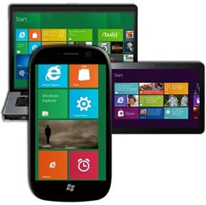 Windows 8 on different devices