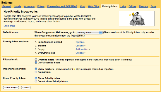 how to go back to gmail from inbox