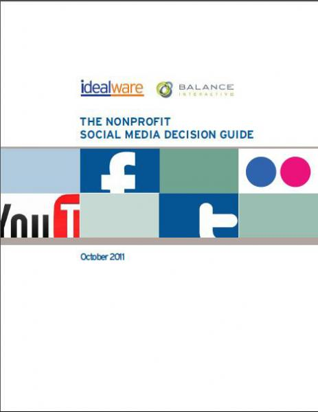 Social Media Decision Guide cover