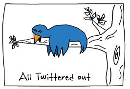 Twittered out